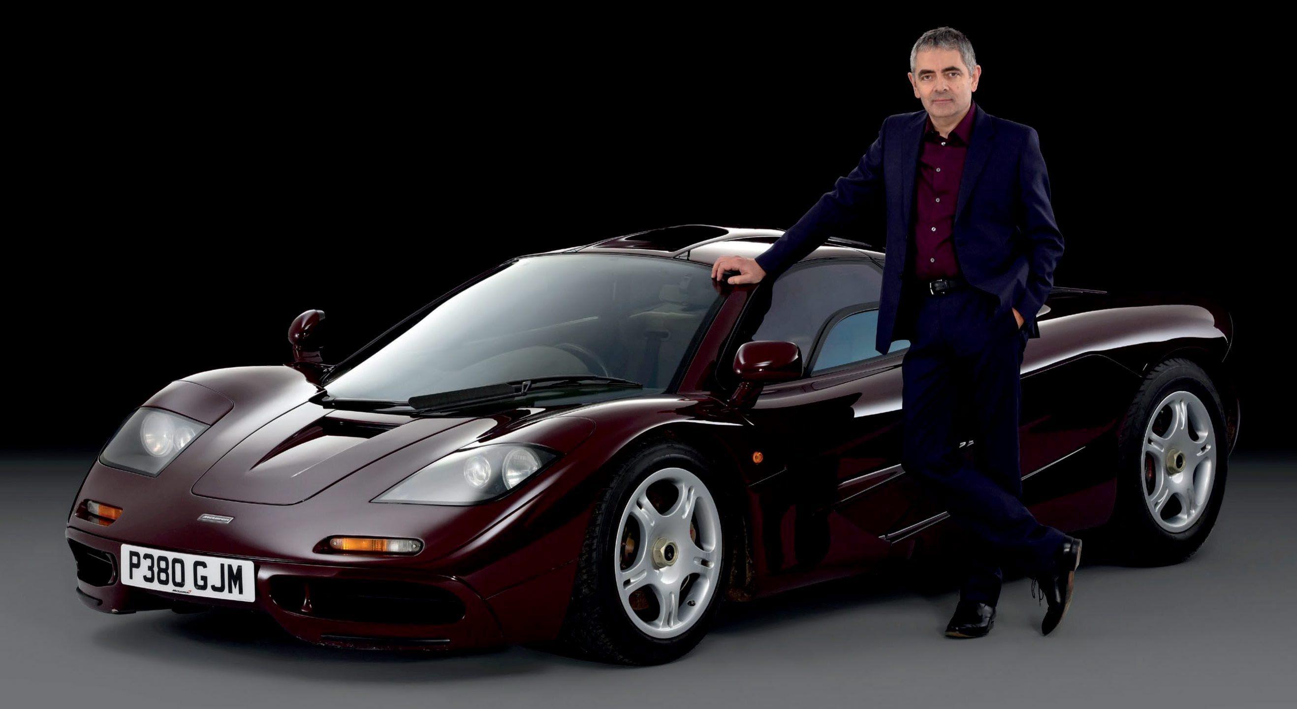 Rowan atkinson s car collection 2016 mr bean s real
