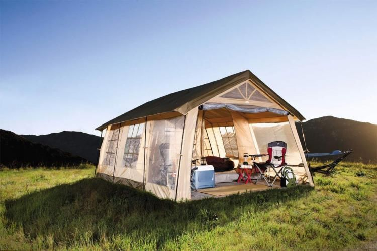 Giant House Shaped Tent With a Front Porch - Fits 10 People & Giant House Shaped Tent With a Front Porch - Fits 10 People | baby ...