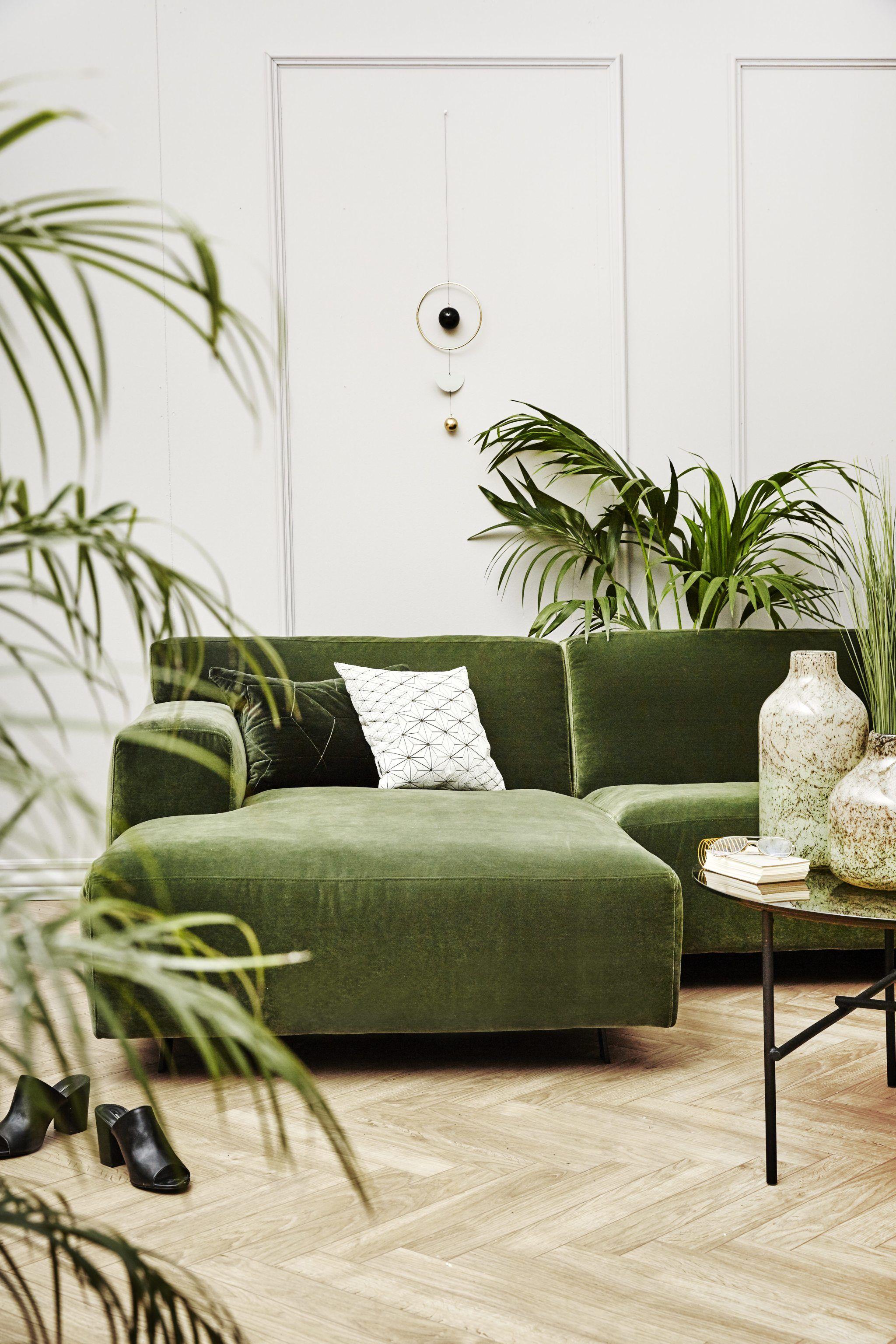 grøn sofa Billedresultat for ilva grøn velour sofa | uu in 2018 | Pinterest  grøn sofa