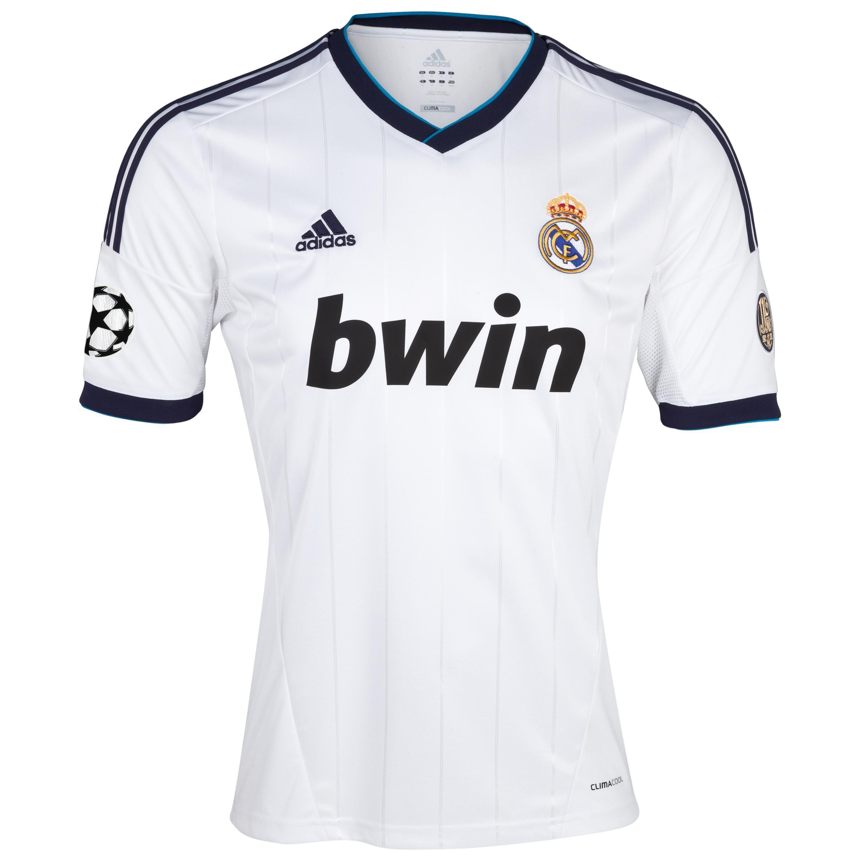 Venta de Camiseta 1ª Fútbol De La Liga De Campeones Del Real Madrid 2012 13  - Niños jb8 para la Liga 3ff1d42c1547f