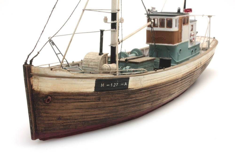 Artitec Ships Norwegean Fishingboat Framtid I Waterline H0 Kit 1 87 In 2020 Model Ships Waterline Nautilus Submarine