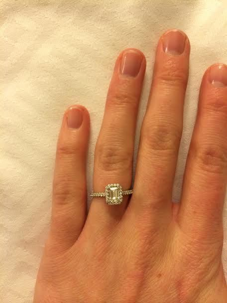 8ba10777c Tiffany Soleste Emerald Cut | les mariages in 2019 | Emerald cut ...