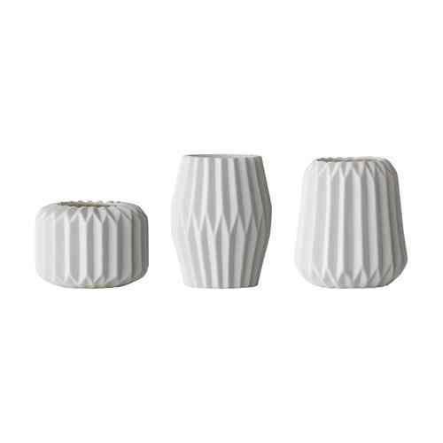 Weiß. Bloomingville Vase