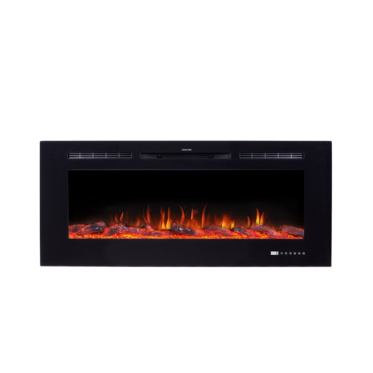Flameline Dannis 50 750w 1500w Inwall Recessed Electric Fireplace