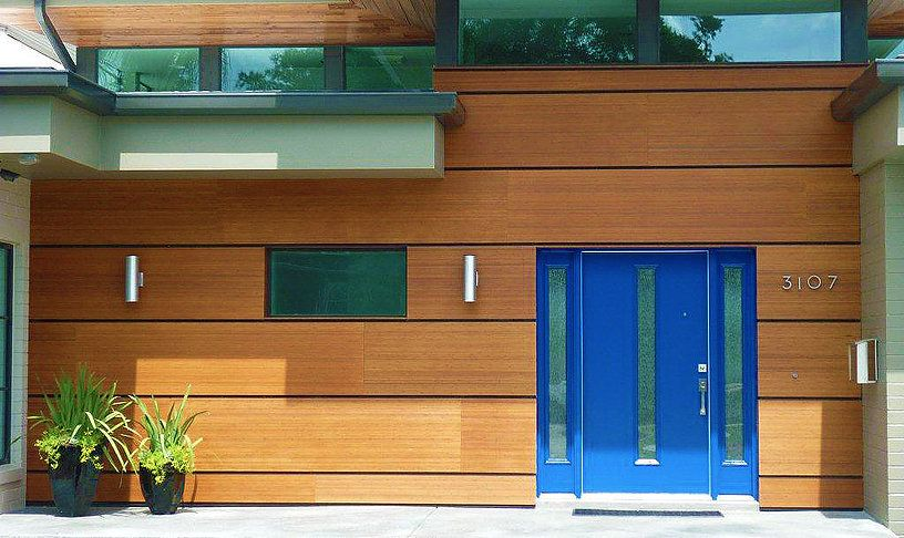 Sustainable high performance exterior wall cladding products