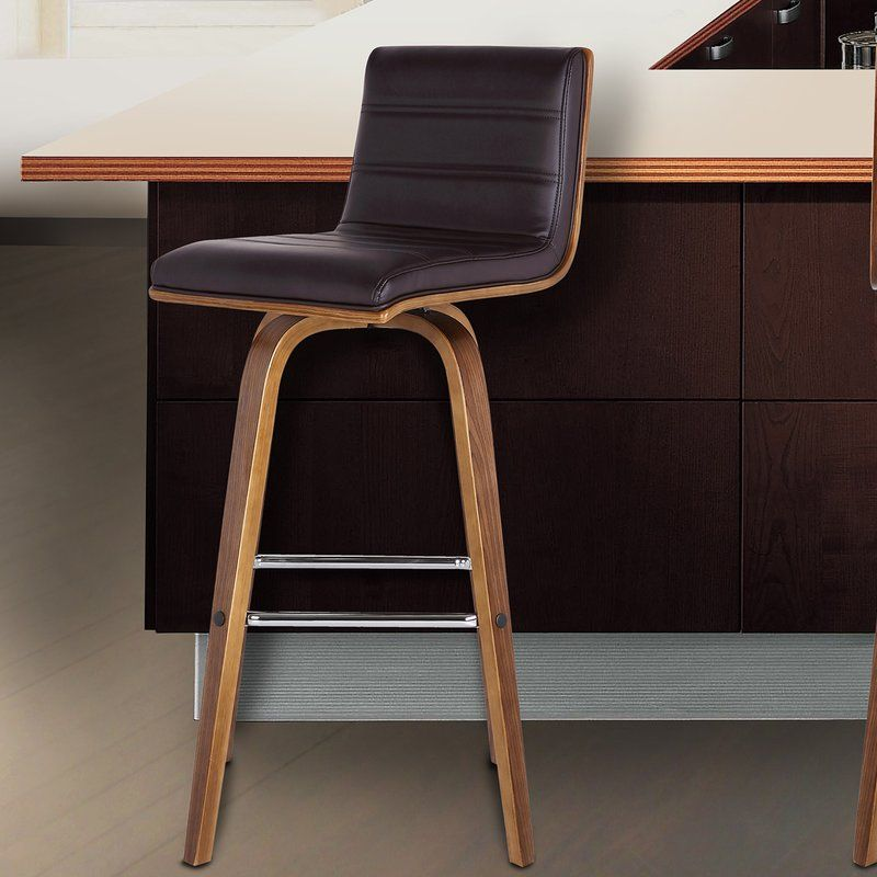 Indulge In Luxury With The Contemporary Swivel Bar Stool. It Is Beautifully  Designed With A
