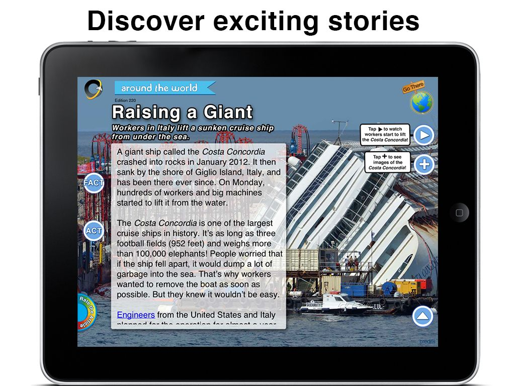 Introduce Informational Text With Current Events On Mobile