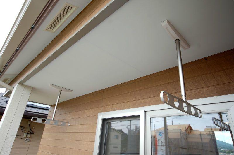 バルコニーは第2のリビング 工藤工務店の施工写真集 ベランダ
