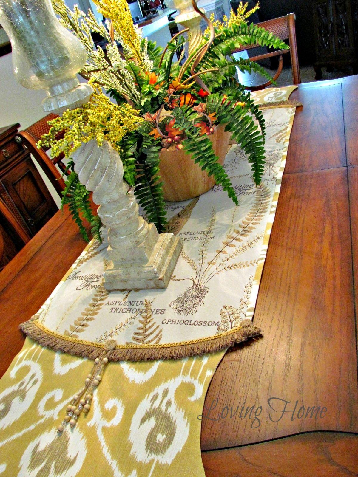 Fall Harvest Table Runner