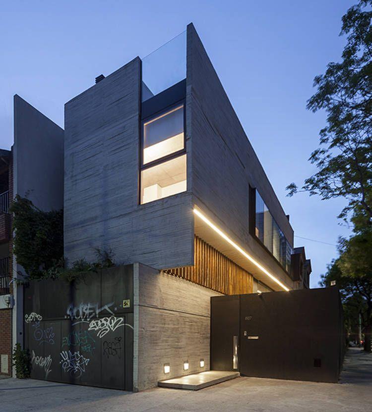 Casa en esquina reinterpretar la casa chorizo en clave - fachadas contemporaneas