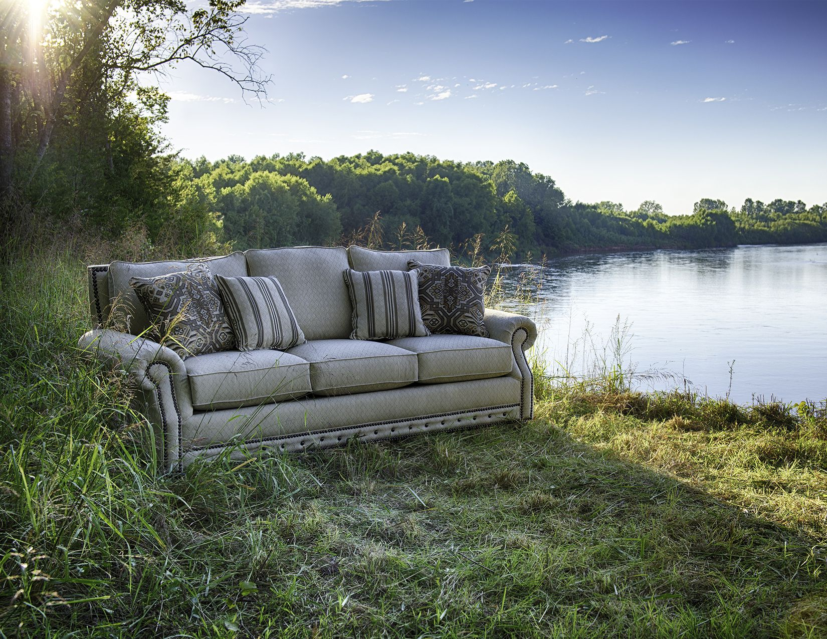 Special Scenes Furniture Lake House Outdoor Sofa