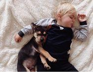 Adorable photos of boy, puppy napping go viral