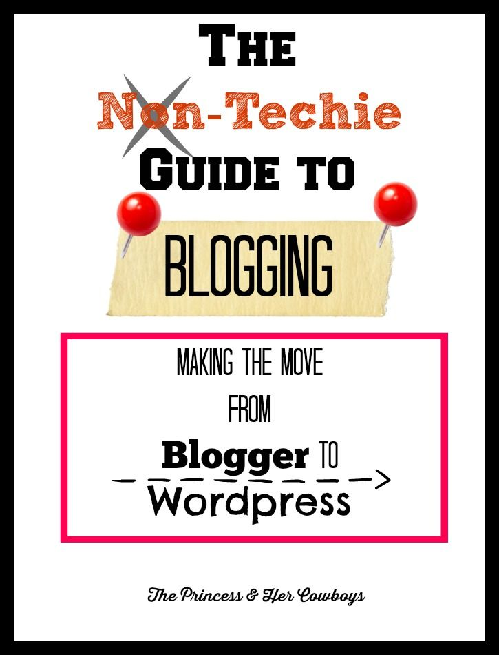 Things to Consider Before Moving From Blogger to Wordpress - The Princess & Her Cowboys