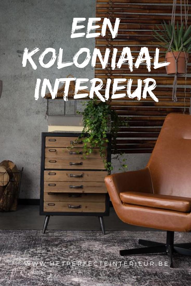 Interieur Ideeen Woonkamer Koloniaal.Koloniale Stijl In Uw Interieur Donkere Meubels Ideeen Voor