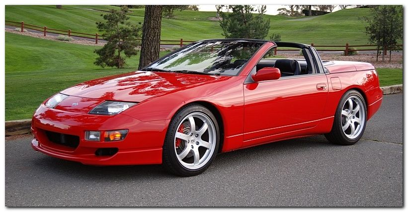 Nissan 300zx Convertible Red Color
