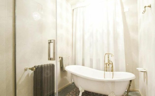 terrazzo fliesen bodenbelag badezimmer muster badewanne - badezimmer fliesen muster