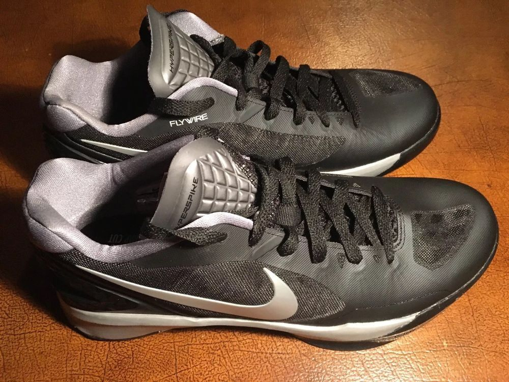 f69222242afe Nike Women s Volley Zoom Hyperspike Sz 11 Black Metallic Silver 585763-001  NEW  fashion  clothing  shoes  accessories  womensshoes  athleticshoes  ad  (ebay ...