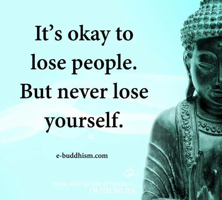 Buddha Self Confidence Never Lose Yourself Buddhism Pinterest