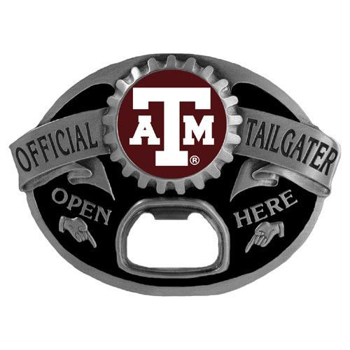 Texas A & M Aggies Tailgater Belt Buckle
