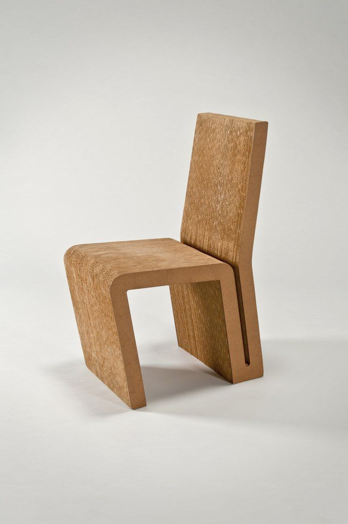 Side Chair by Frank Gehry Love cardboard Pinterest