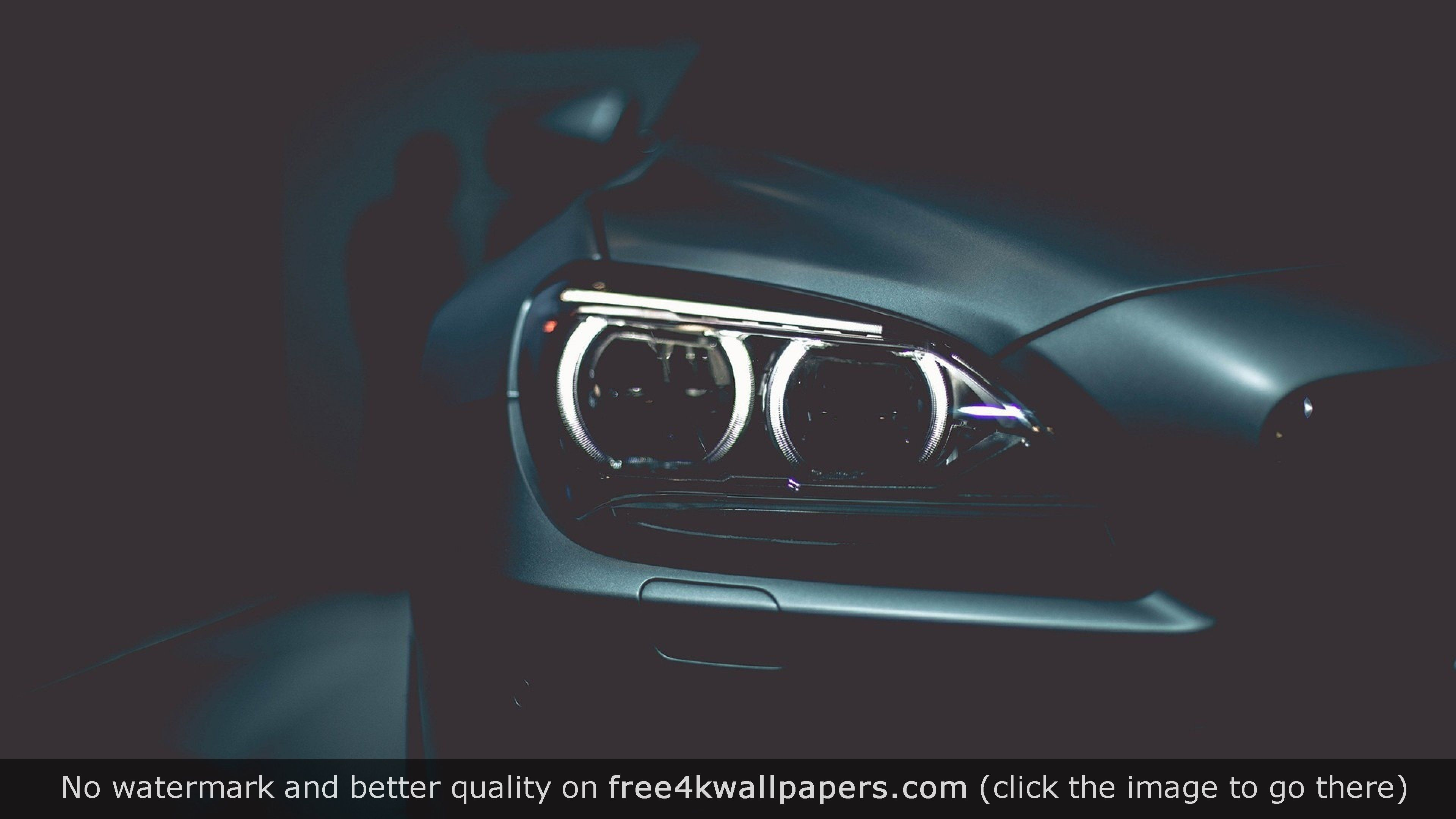 Bmw Headlights Black Style Wallpaper Fondos De Escritorio Faros