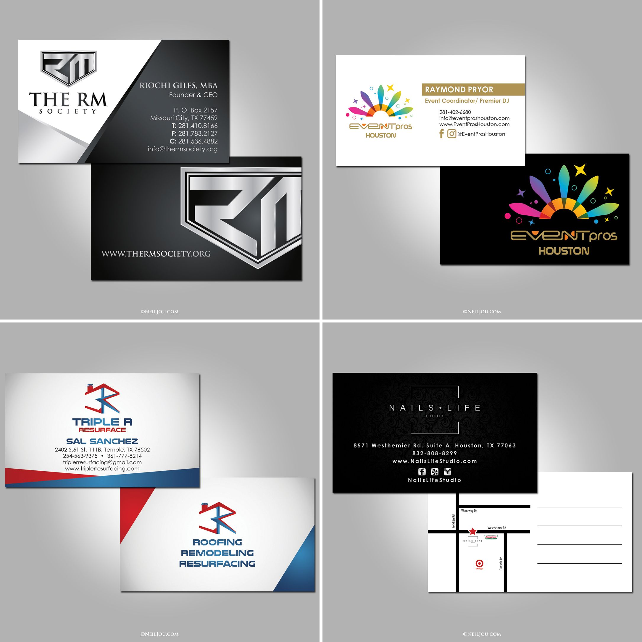 Latest business card graphic designs and printing. Production by ...