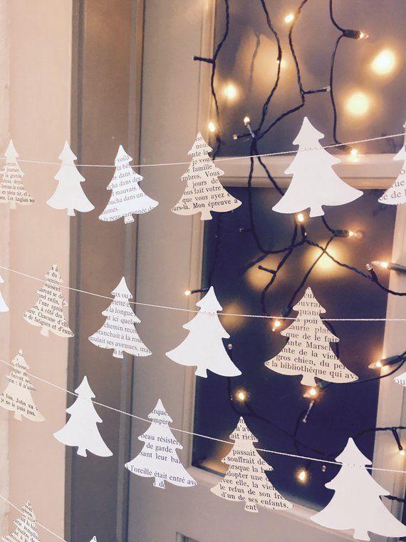 Ähnliche Artikel wie Urlaub Dekor, einzigartige Geschenke, Weihnachten Kranz, rustikalen Urlaub Dekor, Weihnachtsbaum Girlande, Weihnachtsschmuck, Geschenk für Lehrer auf Etsy