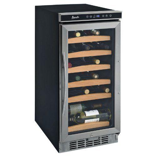 Avanti Wc1500dss 15 Built Avanti Wc1500dss 15 Built In Wine Cooler With 30 Bottle Capacity By Avanti Built In Wine Cooler Wine Refrigerator Wine Chiller