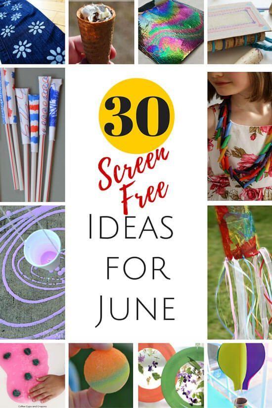 Screen Free Ideas For June Bonbon Break Share Your Craft