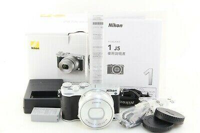 !@# Near Mint in Box Nikon J5 silver camera w/ PD 10-30mm VR...