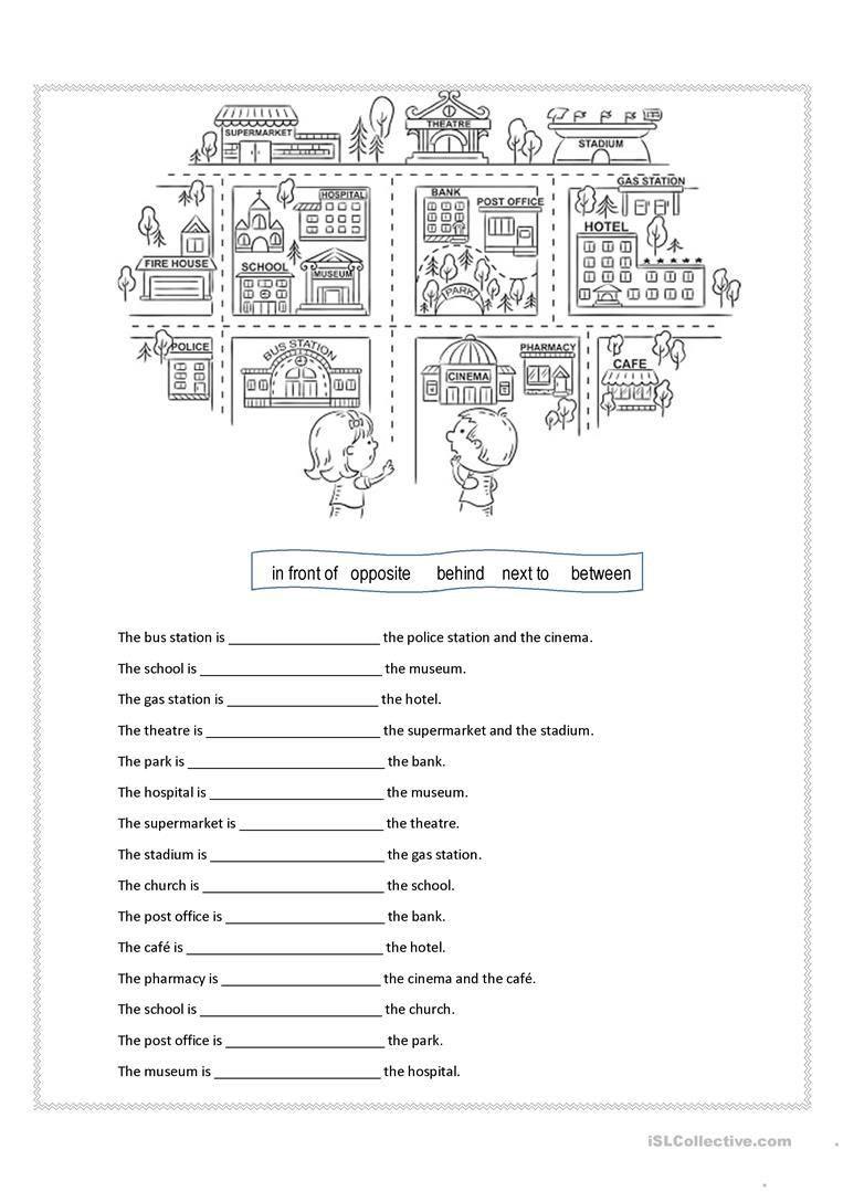6 Kindergarten English Worksheets Free Printables Word Preposition Worksheets English Prepositions Learning Worksheets