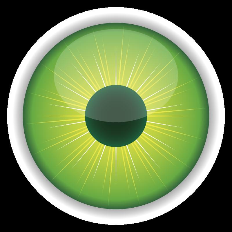 Green Eye Clipart   Clip art, Eyes clipart, Cartoon eyes