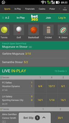 Bet365 Com Online Betting For All Sports Betting Garbine Muguruza Sports