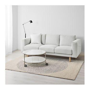 skarres rug high pile grey 170x240 cm