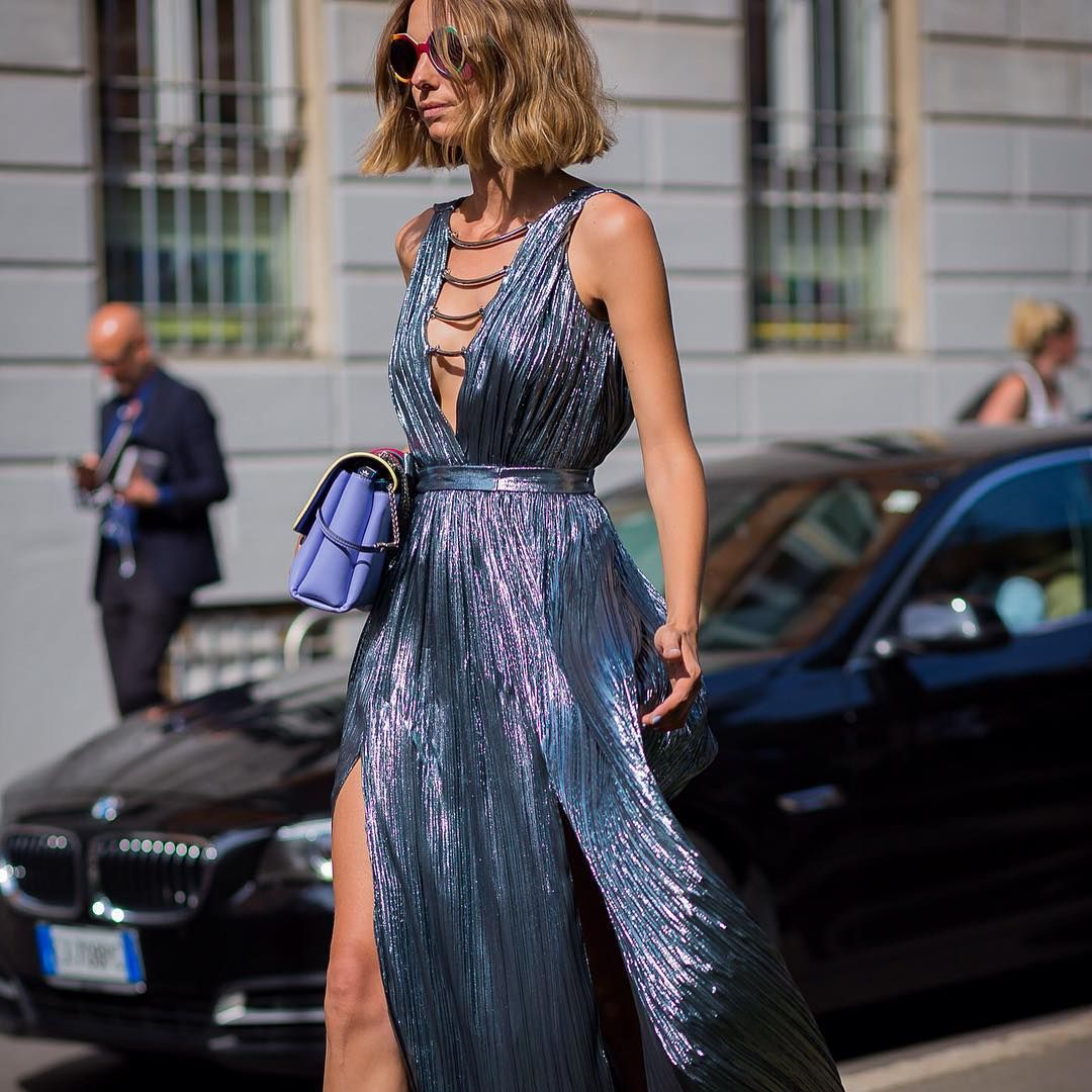 Pin by Ajsi Ajsel on Chic and Elegant Pinterest Metallic outfits