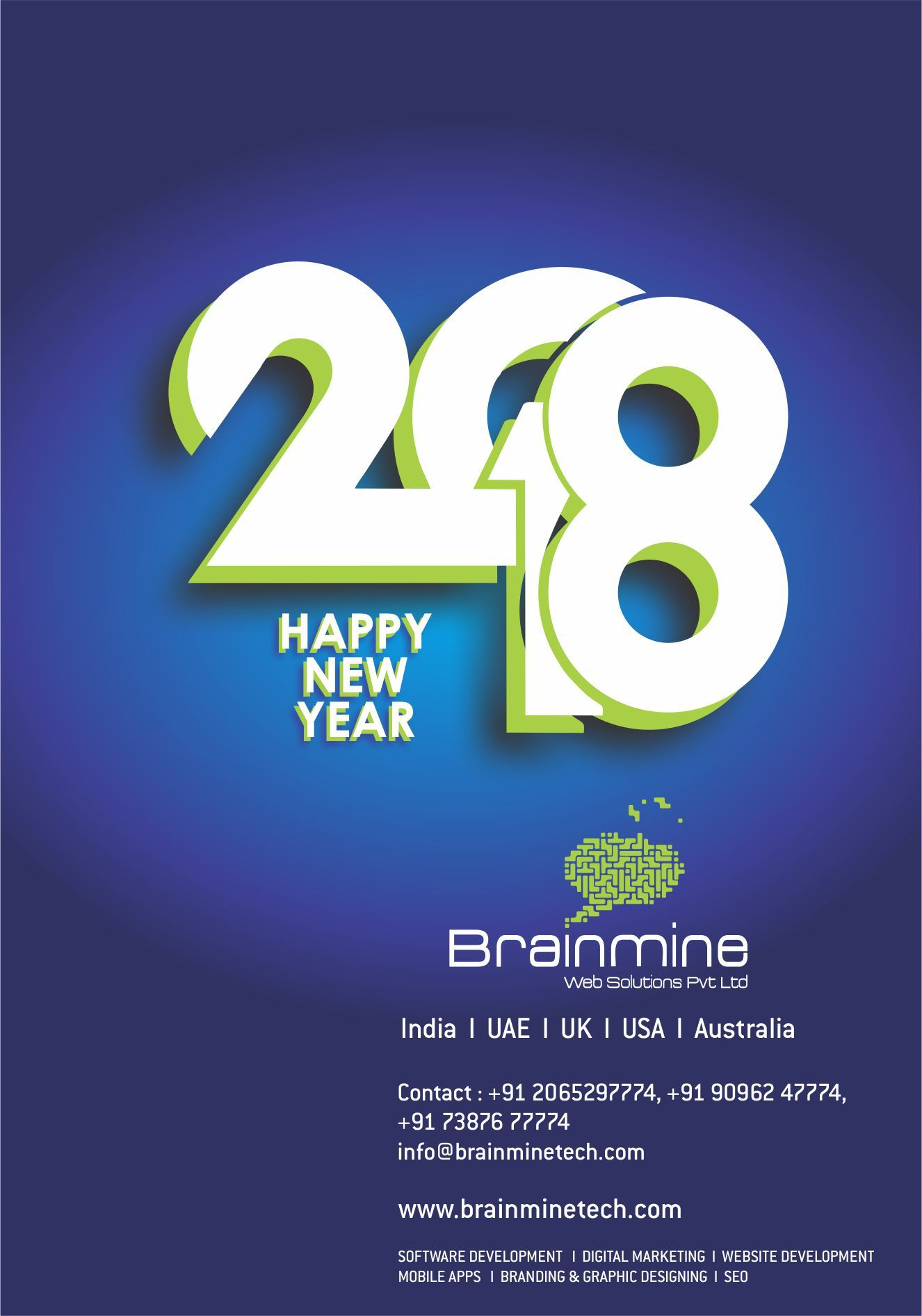 Brainmine Wishes You A Happy & Prosperous New Year!