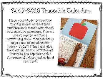 2018 blank monthly calendar template