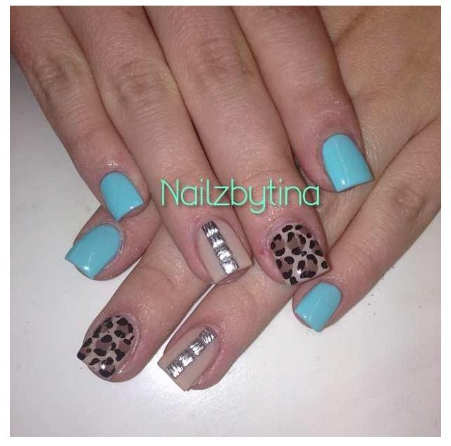 Blue leopard !