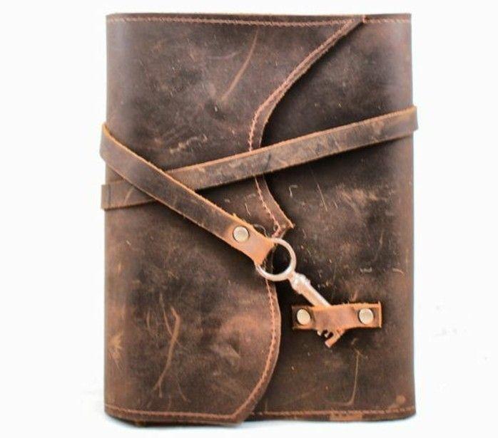 1001 ideen f r buchumschlag selber machen wie ist da m glich leder leather book covers. Black Bedroom Furniture Sets. Home Design Ideas