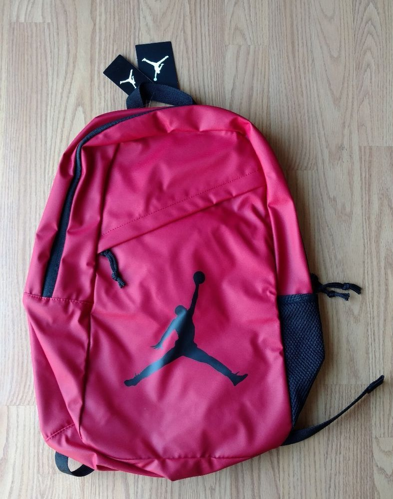 AIR JORDAN Laptop Backpack Full-Size Red Black Mens Women s Kids NEW NWT    35.99 End Date  Wednesday Oct-3-2018 9 13 43 PDT Buy It Now for… a589bb4a826fb