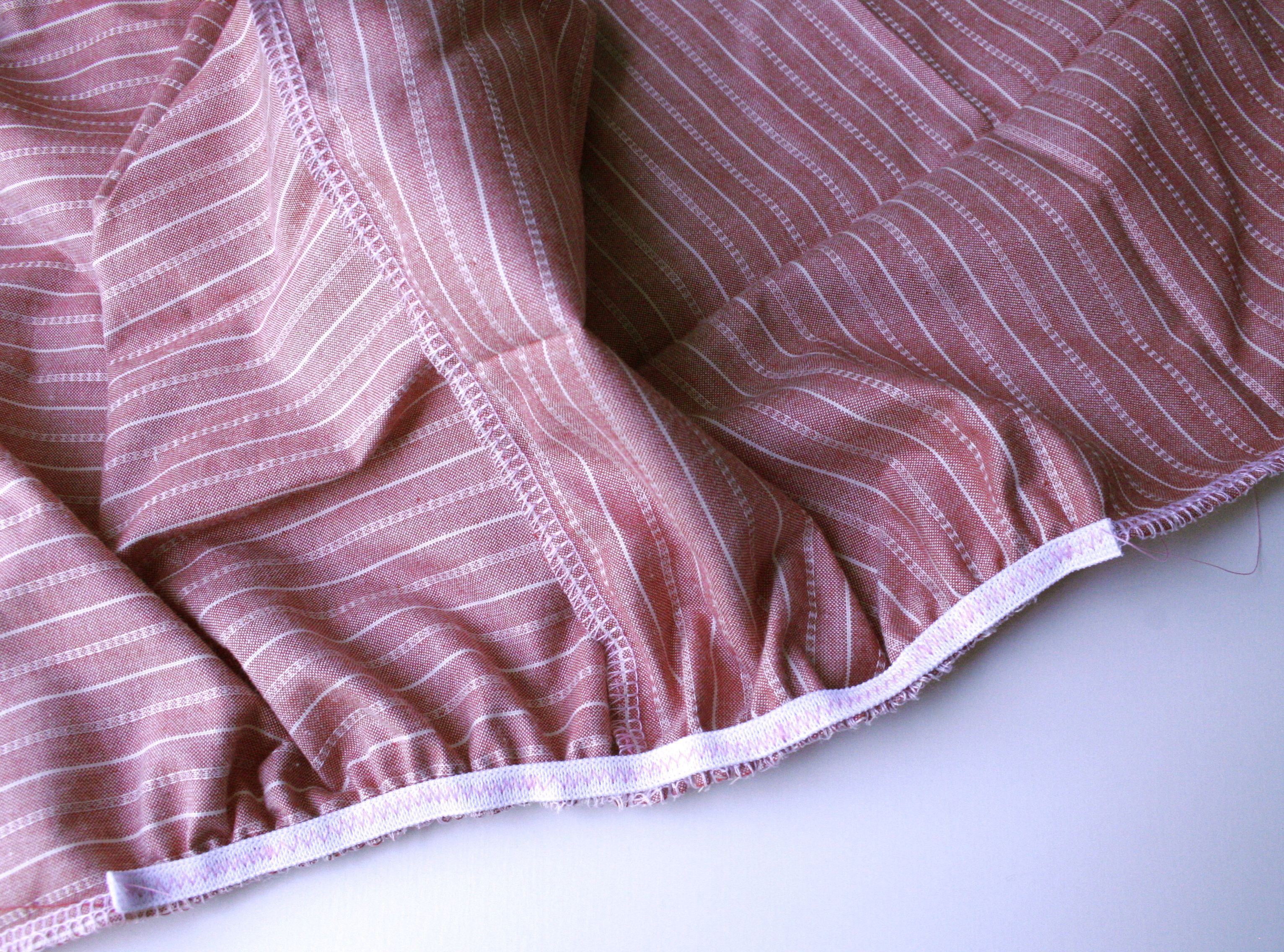 Baby bed sheet pattern - Corners Sheet