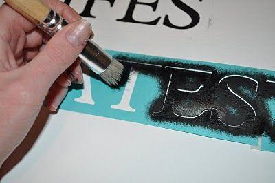 Cricut stencil: smart.