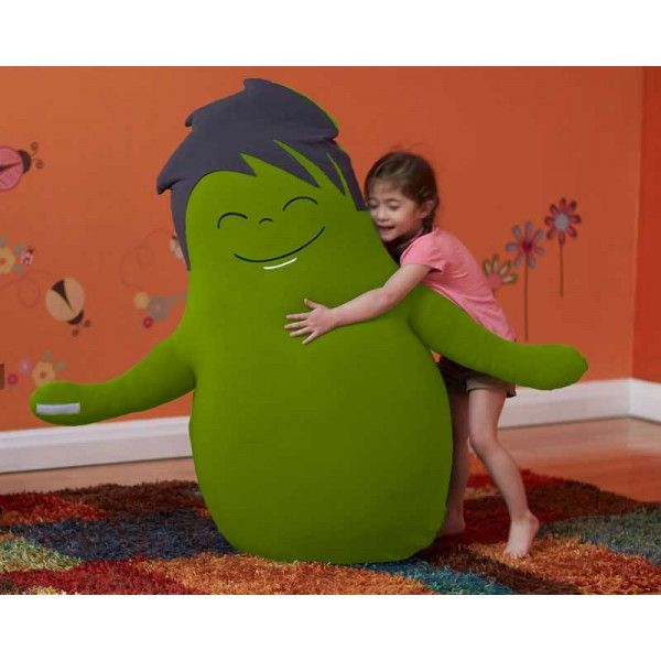 Hugibo Is A Full Sized, Sensory Friendly Bean Bag Friend That Hugs You Back.