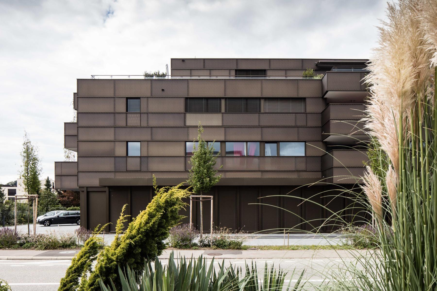 Ub Twerenbold Mellingen Metall Fassade Flachige Fassadenwirkung