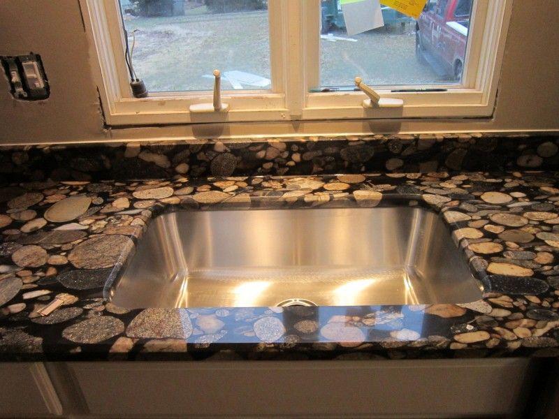 Marinace / Black Mosaic Gold Granite (granitegrannies.com)