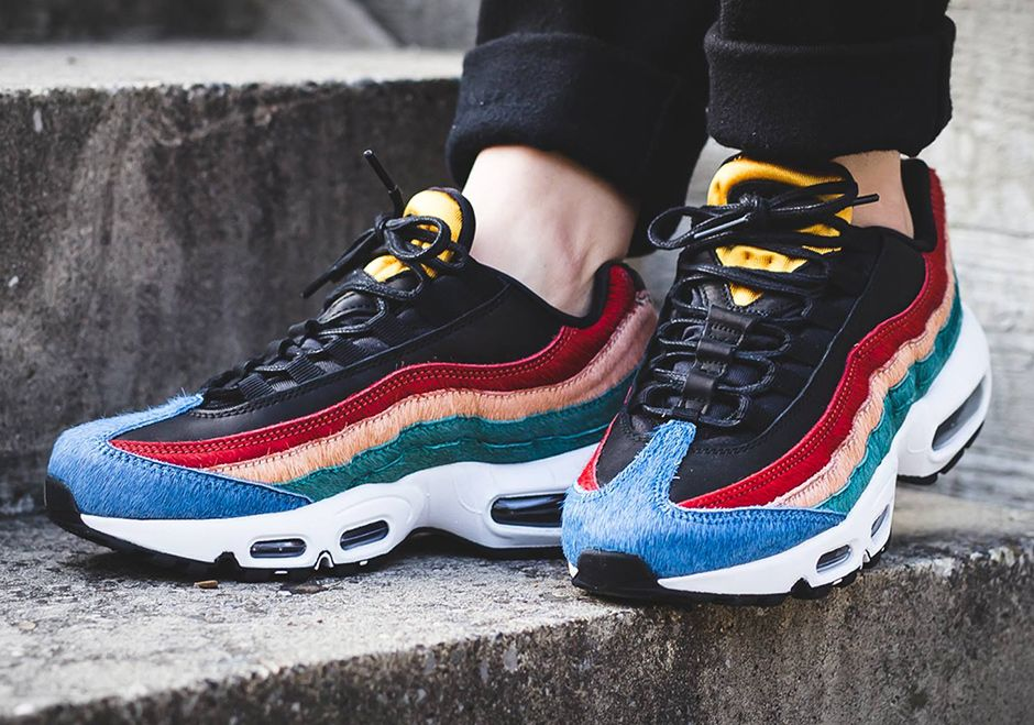 womens nike air max 95 multiple colorways of yeezy