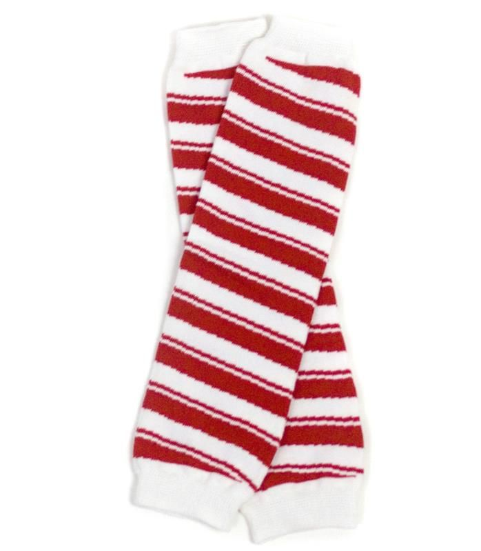 Legwarmers for Children - Yummy Mummy Emporium:: Candy Cane Stripe $7 Limited quantity available.