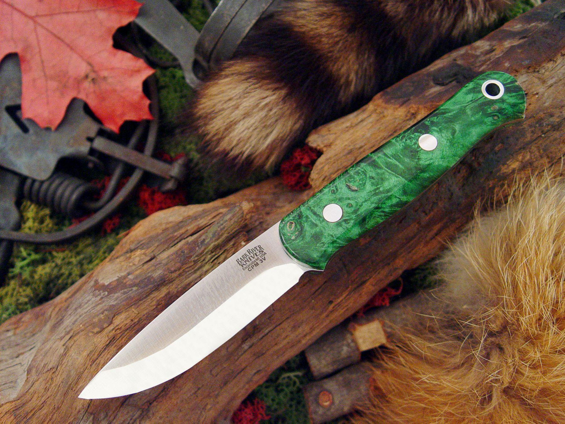 Bark river knives ultra light bushcrafter cpm 3v bark