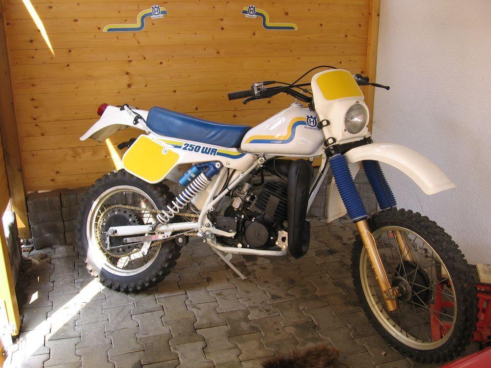 Husqvarna 240wr 1983 Bilar Motorcyklar