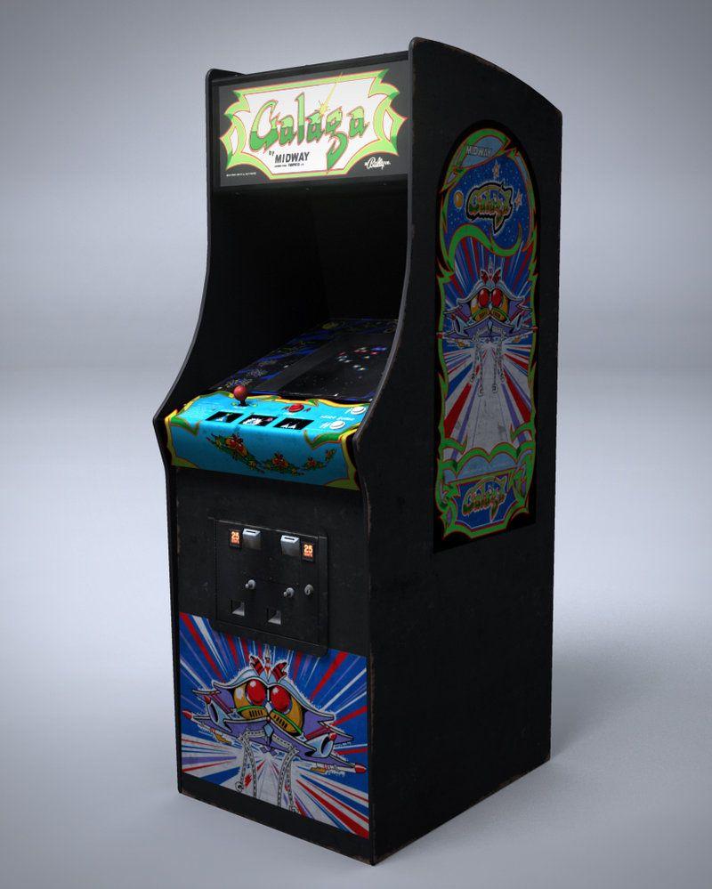 borne arcade galaga